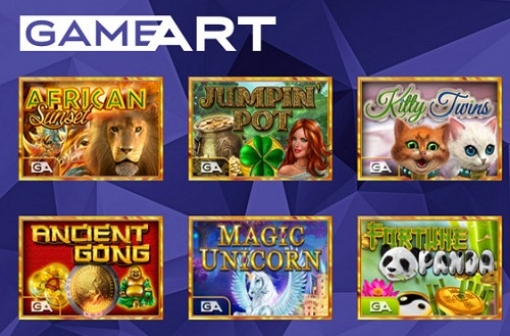 GameArt Slots Now Available at SkillOnNet - GameArt slot games