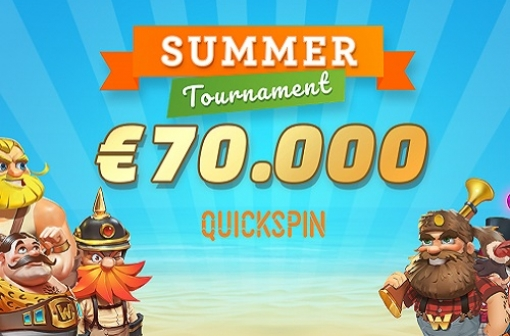Space Lilly Casino Quickspin Summer Tournament.