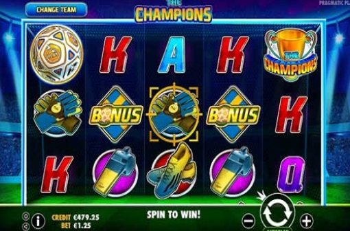 The Champions Slot - Pragmatic Play - Screenshot